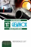 Gieminox reference list, January 2014